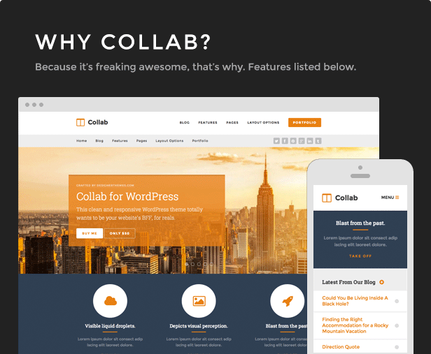 Collab - Create a Beautiful Website with WordPress